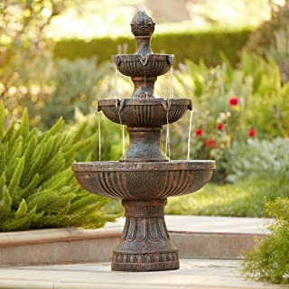 John Timberland Ravenna Italian Outdoor Floor Water Fountain 43