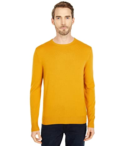 J.Crew Everyday Cashmere Crewneck Sweater in Solid (Dark Honey) Men