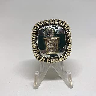 1986 Boston Celtics High Quality Replica Finals Championship Ring Size 8.5-Gold Colored