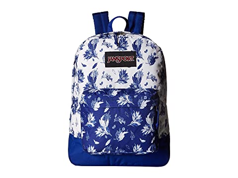 Black SuperBreak® JanSport Botanical Black JanSport Label x8PqSf