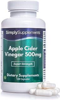 Vinagre de manzana 500 mg - ¡Bote para 2 meses! - Apto para