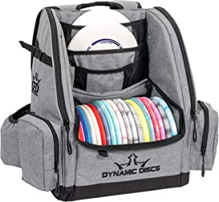 Dynamic Discs Commander Backpack Disc Golf Bag | 20 Disc Capacity | Two Deep Storage Pockets | Two Accessory Pockets | Two Water Bottle Holders | Frisbee Disc Golf Backpack Bag