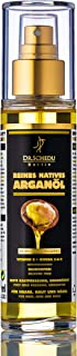 Dr. Schedu Berlin 100% Pure Moroccan Argan Oil - Organic, Cold-Pressed, No Chemical Treatment - Damage Control, Intensive Care for Face, Hair, Skin, Nails - Rich in Vitamin E, Omega 3, 6, 9-100 ML