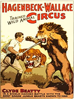 Best circus lion poster Reviews