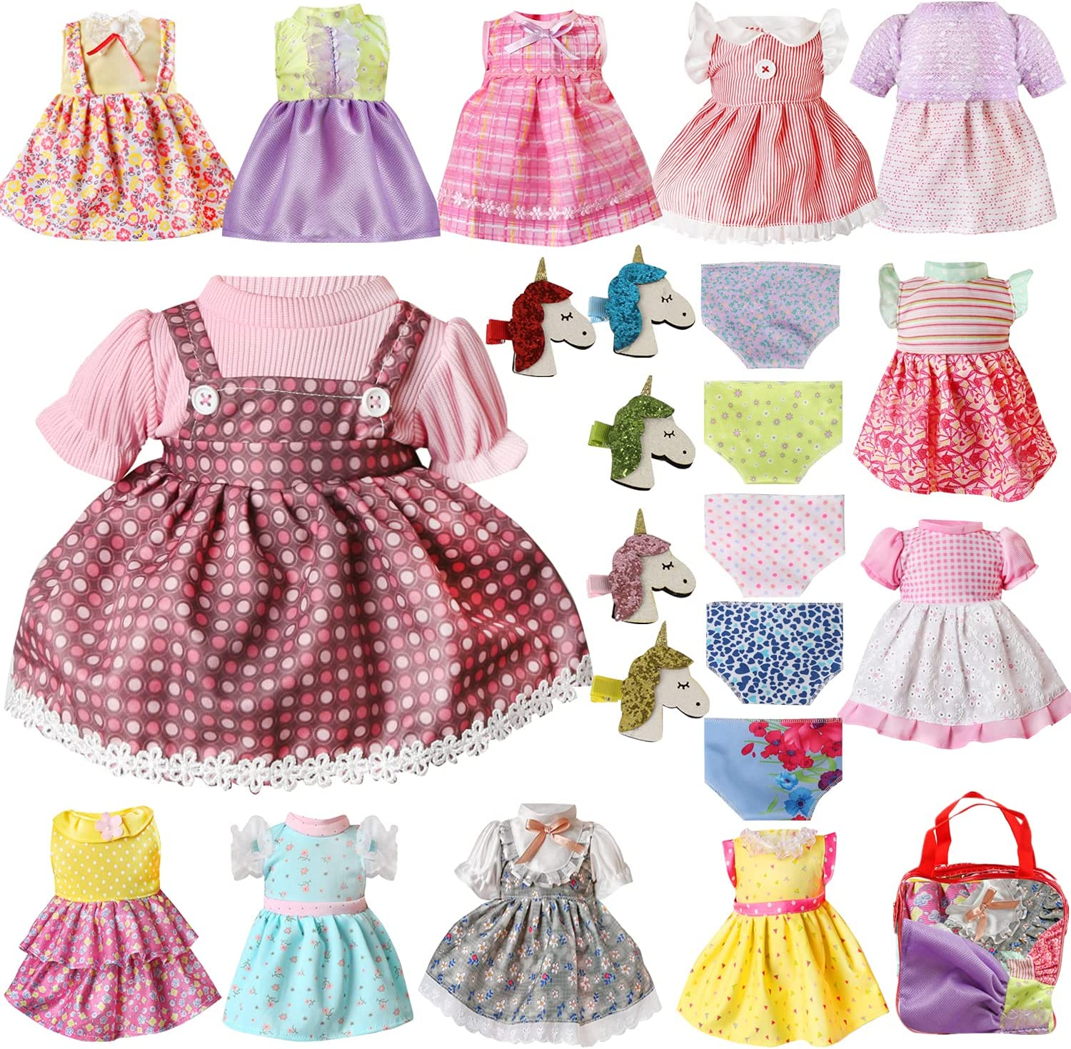 Voccim 22 Pcs Doll Clothes Baby Seasonal Wrap Introduction for Alive Clothing Ranking TOP13 Outfits