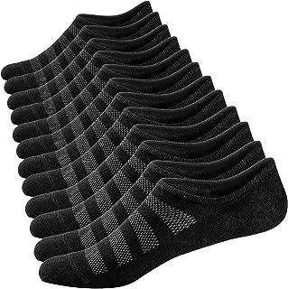 Calcetines Cortos para Hombre y Mujer Invisibles Respirable Calcetines tobilleros Algodón Antideslizantes
