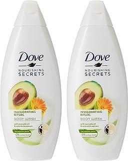 Dove Invigorating Ritual Body Wash Avocado, 250 ml (Pack of 2)