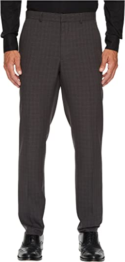 Perry Ellis Portfolio - Slim Fit Mechanical Stretch Tonal Plaid Pants