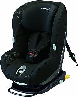 Bébé Confort MiloFix - Silla de coche grupo 0+/1, desde 0 hasta 18 kg, instalación IsoFix, color negro