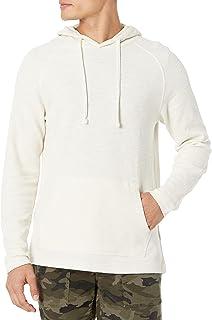 Goodthreads Men's Long-Sleeve Slub Thermal Pullover Hoodie