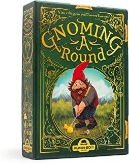 Grandpa Beck's Gnoming A Round Card Game | A Fun Family Card Game | Enjoyed by Kids, Teens, & Adults | from The Creators o...