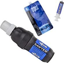 Sawyer Products SP129 PointOne Water Filtration System with 32-Ounce Squeezable Pouch