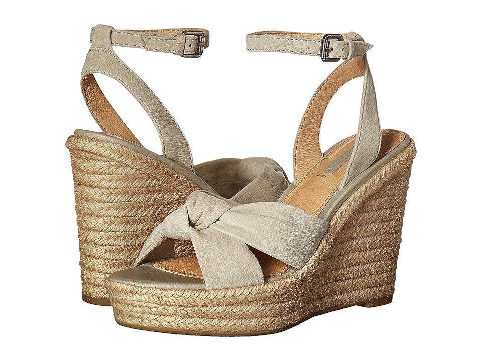Frye Charlotte Twist Ankle Sandal (Sage Suede) Women