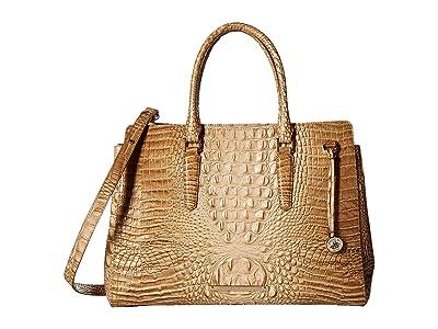 Brahmin Melbourne Finley Carryall (Honeycomb) Handbags