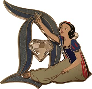 land 60th Diamond Anniversary Snow White with Diamond In D Trading Pin