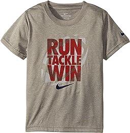 Nike Kids - Run Tackle Win Dri-FIT Tee (Little Kids)