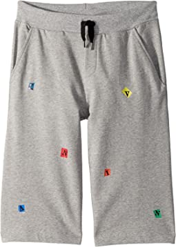Lanvin Kids - Letters Bermuda (Big Kids)