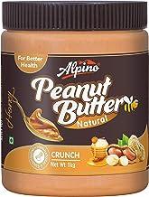 Alpino Natural Honey Peanut Butter Crunch 1 KG (Gluten Free / Non-GMO / Vegan)
