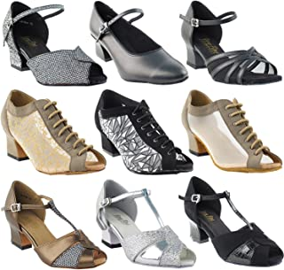 fa3beedf851 50 Shades of Thick Heel Dance Shoes  Comfort Ballroom Salsa Teaching  Practice