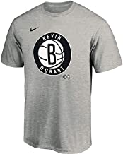 Outerstuff Kevin Durant Brooklyn Nets Youth New City Player Heather Gray T-Shirt
