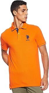 U.S. POLO ASSN. Men's Short-Sleeve Polo Shirt with Applique Shirt