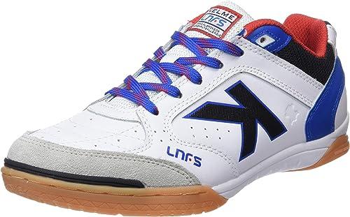 Kelme Precision Lnfs 18, Chaussures de Futsal Homme, Blanc (blanc 6), 11.5 UK