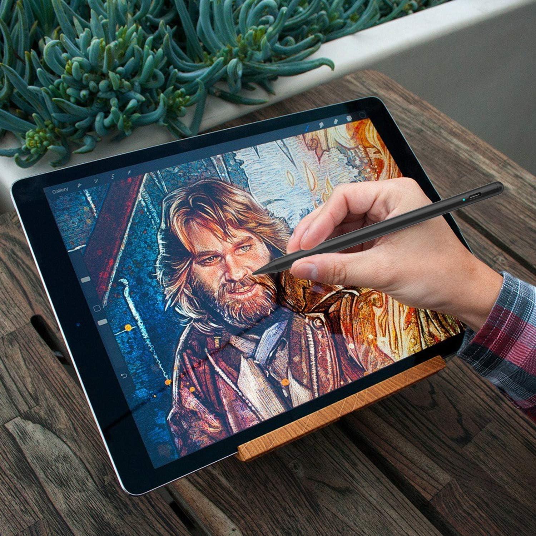 Generation f/ür Apple iPad 2018-2020 Stylus Stift 2 Stylus Pen mit Palm Rejection//Pr/äzisere Stiftspitzen//kein Kratzbildschirm//Magnetische f/ür Apple iPad 6.// 7 // Air 3.// Mini 5.// Pro 3. 11//12.9
