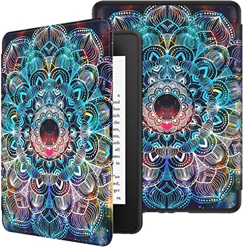 VORI Case for All-New Kindle Paperwhite (10th Generation, 2018 Release), Water-Safe Protective Soft TPU Smart Cover w...