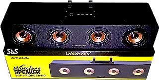 Landmark SAS Portable Bass Enhanced Wireless Soundbar for LED TV, Mobile, Laptops, Computers (Black)