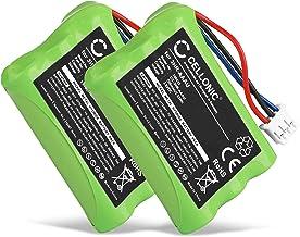 CELLONIC 2X Batería Premium Compatible con Bang & Olufsen BEOCOM 6000 (700mAh) 3HR-AAAU,70AAAH3BMXZ,T373 bateria de Repuesto, Pila reemplazo, sustitución