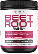 Havasu Nutrition Beet Root Powder with Patented, Organic PeakO2 & Mushroom Blend- Supports Workout Recovery & Promotes Ath...