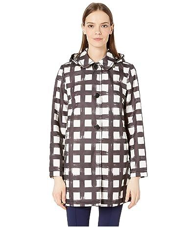 Kate Spade New York 32 CBL Rainwear (Black/Crem) Women