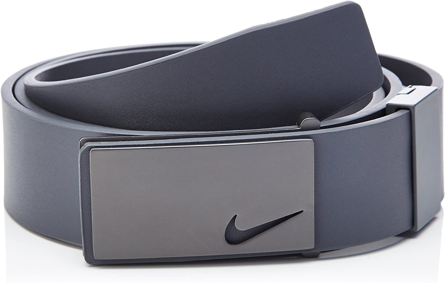 hidrógeno cuidadosamente Palacio de los niños  Nike Men's Sleek Plaque Golf Belt, Dark Grey, One Size: Amazon.co.uk:  Clothing