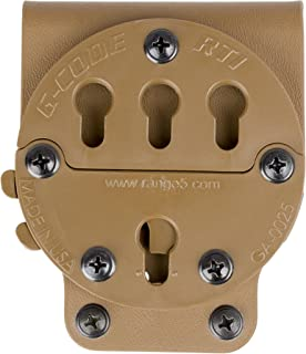 G-CODE RTI Rotating Tactical Belt Mount-GCA 90- (TAN) 100% Made in the USA
