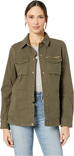 661edbae0180 Levis washed cotton four pocket field jacket w shoulder quilting ...