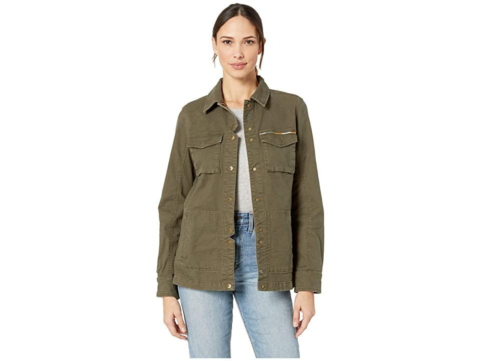 Prana Pennington Jacket (Cargo Green) Women
