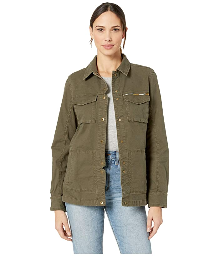 Prana Pennington Jacket (Cargo Green) Women