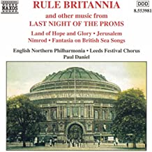 Best last night at the proms rule britannia Reviews
