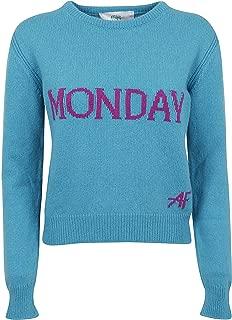 Alberta Ferretti Luxury Fashion Womens J094251122328 Light Blue Sweater | Fall Winter 19