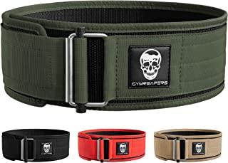 Gymreapers Quick Locking Weightlifting Belt for...