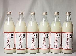 甘酒6本セット モンドセレクション・金賞受賞 篠崎 国菊甘酒 あまざけノンアルコール 900ml×6本