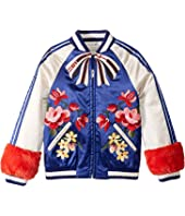 Gucci Kids - Waterproof Nylon Satin Padded Bomber (Little Kids/Big Kids)