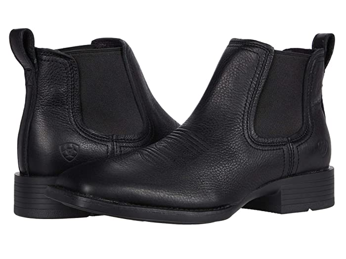 Ariat  Sport Booker Ultra (Black) Mens Pull-on Boots