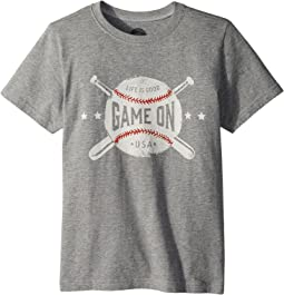 Game On Baseball Crusher Tee (Little Kids/Big Kids)