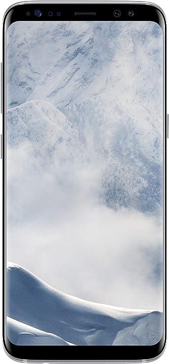 Smartphone samsung galaxy s8 smartphone argento (arctic argento) 64 gb espandibili [versione italiana] 8806088815800