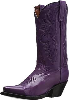 Best purple leather cowboy boots Reviews