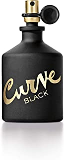 Liz Claiborne Curve Eau de Cologne Spray for Men, Black, 125ml