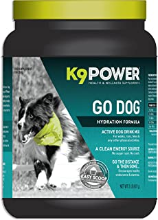 K9-Power Go Dog - Total Hydration and Performance Drink for Active Dogs