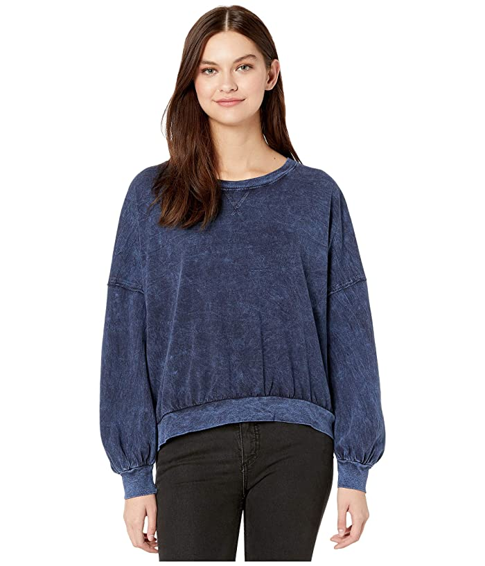 Free People  213 Tee (Navy) Womens Clothing