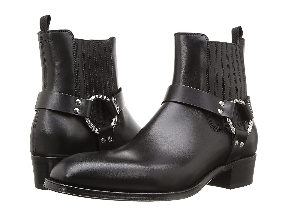 Alexander McQueen O Ring Boot (Black) Men